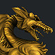 gold dragon - 3DOcean Item for Sale
