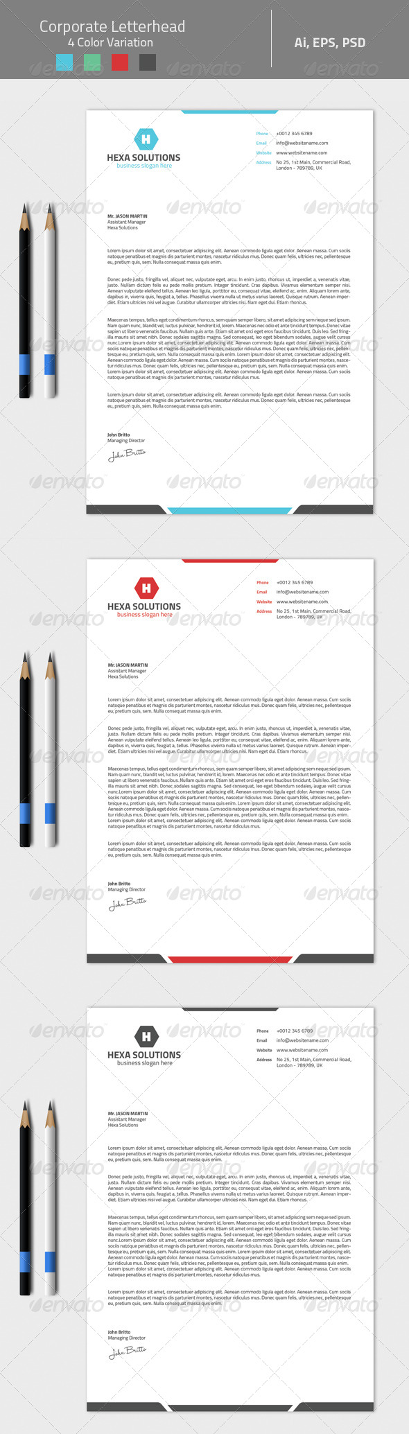 GraphicRiver Corporate Letterhead 02 8325120