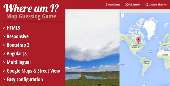 CodeCanyon Where am I HTML5 Map Guessing Game 8142968