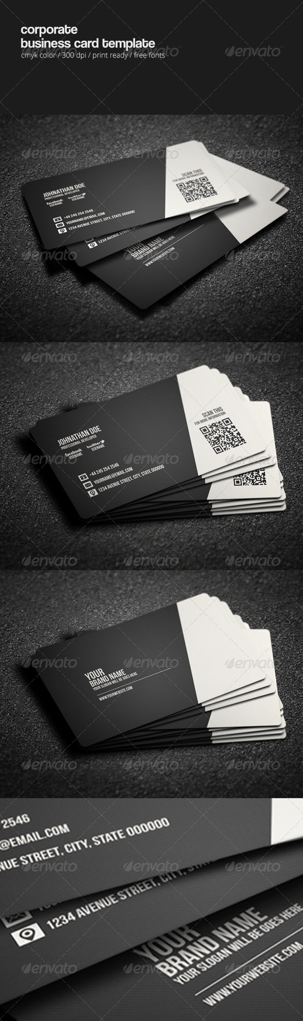 GraphicRiver Corporate Business Card Template 8310431