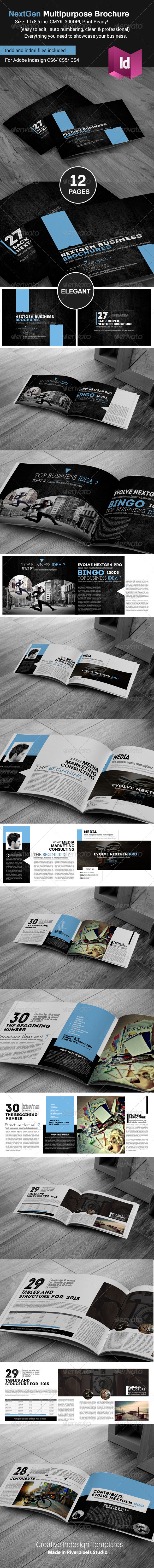 GraphicRiver NextGen Multipurpose Brochure Template 8325205