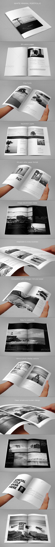 GraphicRiver White Minimal Portfolio 8325211