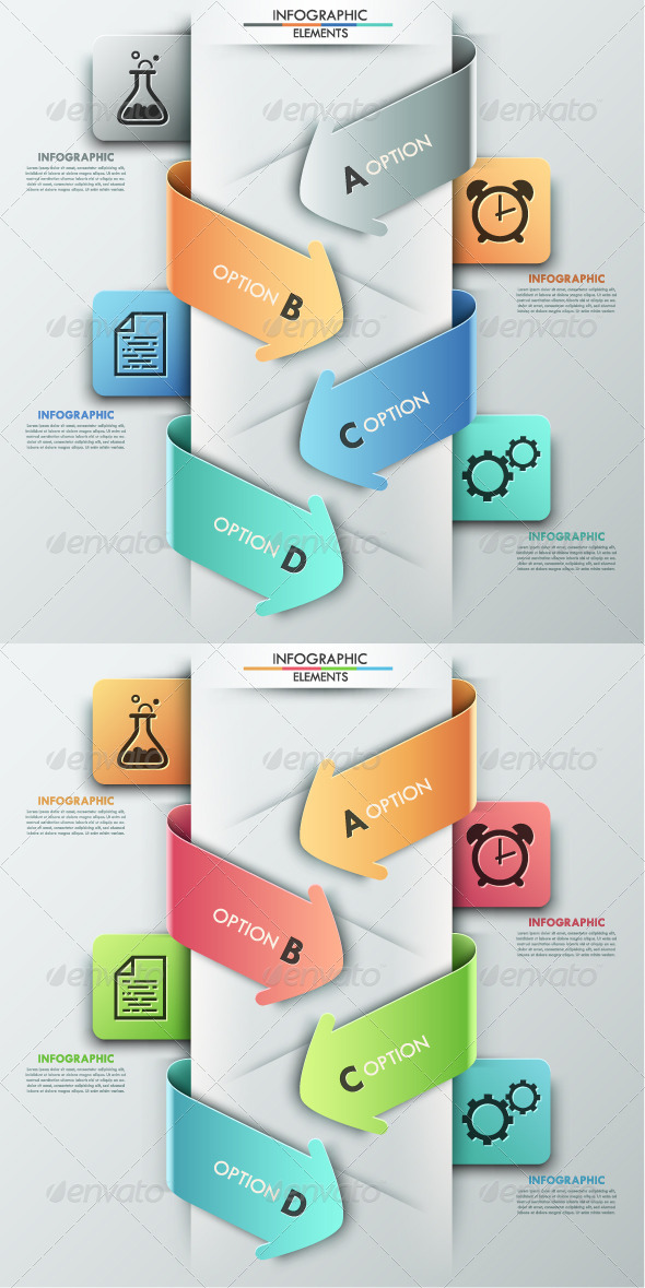 GraphicRiver Modern Infographics Options Banner 2 Versions 8325235