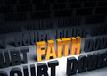 Faith Against Doubt - PhotoDune Item for Sale