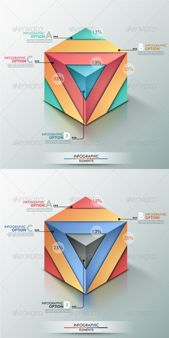 GraphicRiver Modern Infographic Options Banner 2 Versions 8325249