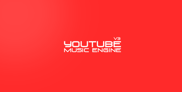 Youtube Music Engine - CodeCanyon Item for Sale