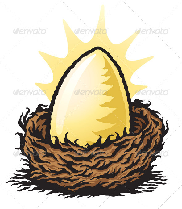 GraphicRiver Golden Nest Egg 8325271