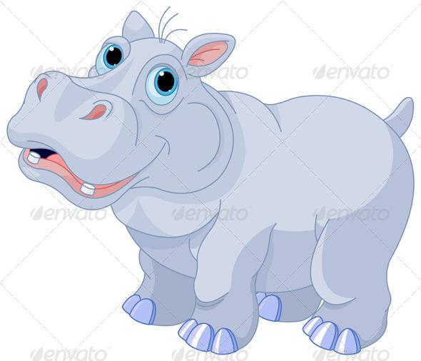 GraphicRiver Mischievous Hippo 8325401