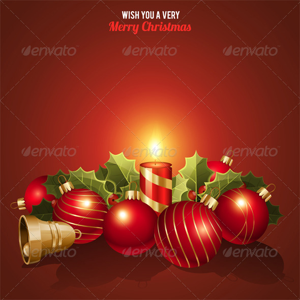GraphicRiver Christmas Background 8325419