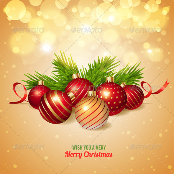 GraphicRiver Christmas Background 8325426