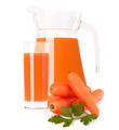 Carrot vegetable juice in glass jug - PhotoDune Item for Sale