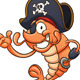 Pirate Shrimp - GraphicRiver Item for Sale