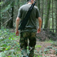 Armed Man Walking Through Forest - VideoHive Item for Sale