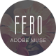 Febo - One Page Muse Template - ThemeForest Item for Sale
