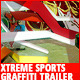 Xtreme Sports Graffiti Trailer - VideoHive Item for Sale
