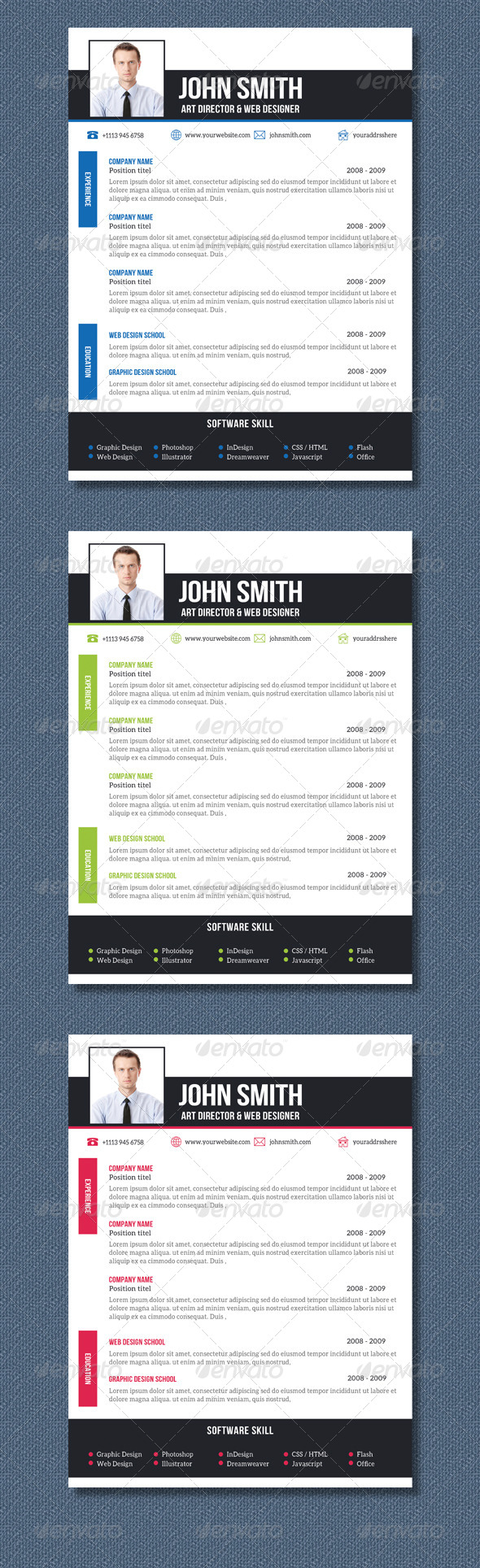 GraphicRiver Resume 8325972
