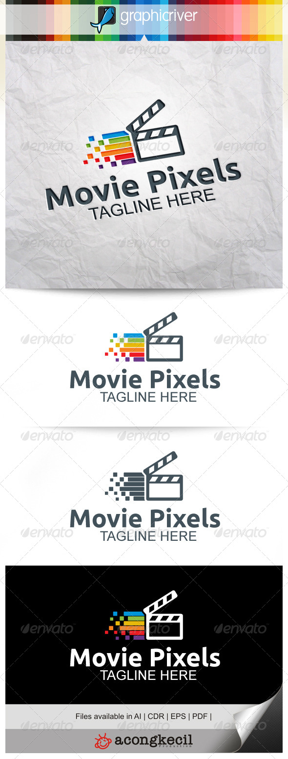 GraphicRiver Movie Pixels 8322152