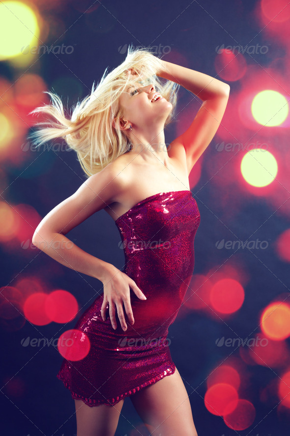 Club dance - Stock Photo - Images