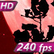 Red Moon in the Woods - VideoHive Item for Sale