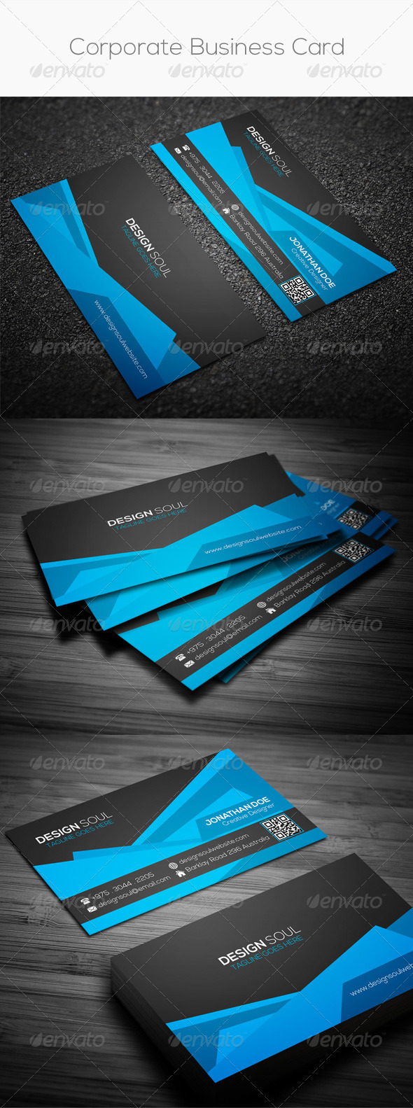 GraphicRiver Corporate Business Card 8326554