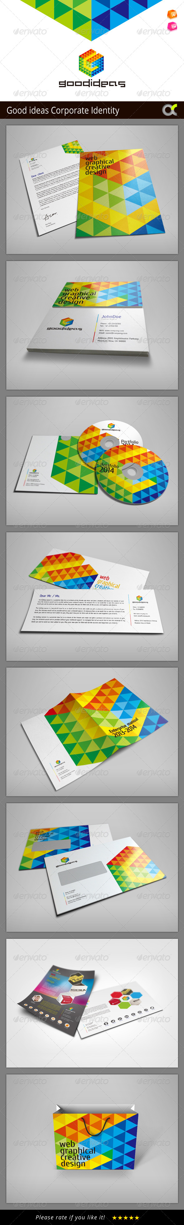 GraphicRiver Good Ideas Corporate Identity 8326640