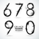 Vector Set Grunge Number - Part 2 - GraphicRiver Item for Sale