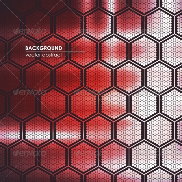 GraphicRiver Abstract Technological Background Lattice 8326686