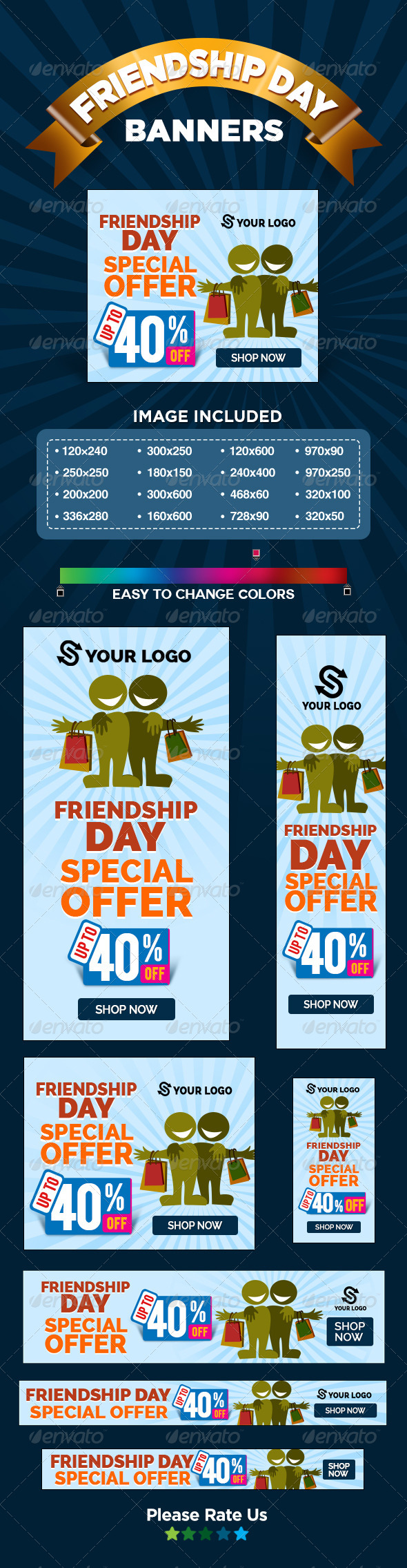 GraphicRiver Special Sale Banners 8326731