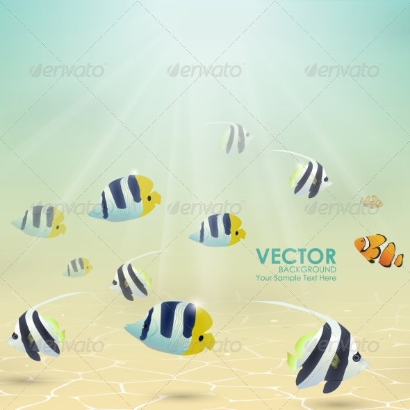GraphicRiver Fish in Tropical Water 8326889