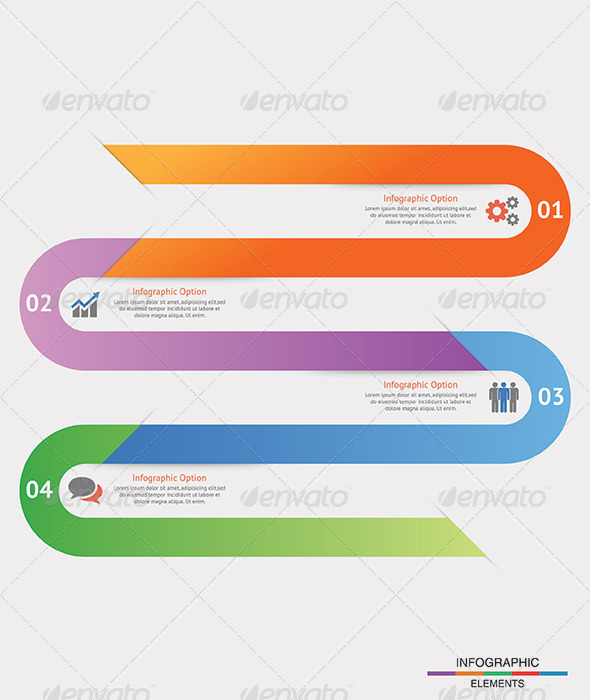 Modern Infographic Options Banner Template