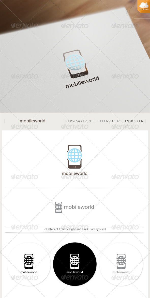 GraphicRiver Mobile World 8327183