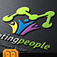 Marketing People Logo - GraphicRiver Item for Sale