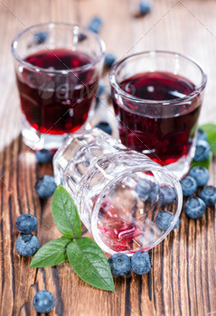 Blueberry Liqueur Shot - PhotoDune Item for Sale