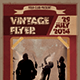 Vintage Flyer Poster Template - GraphicRiver Item for Sale