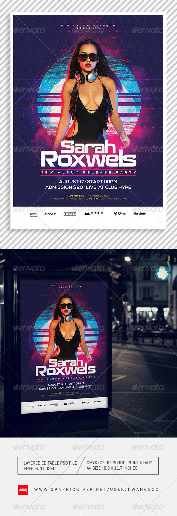 GraphicRiver Special Dj Electronic Dance Music Flyer Poster 1 8327467