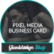 Pixel Media - Photography Business Card - GraphicRiver Item for Sale