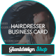 Hairdresser - Business Card - GraphicRiver Item for Sale