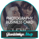 Photography - Business Card - GraphicRiver Item for Sale