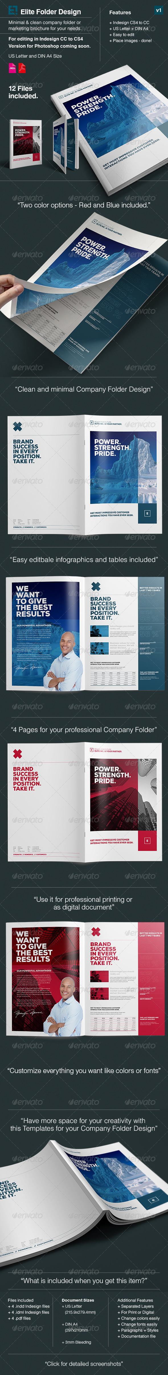 GraphicRiver Elite Company Folder A4 and US Letter 8328138