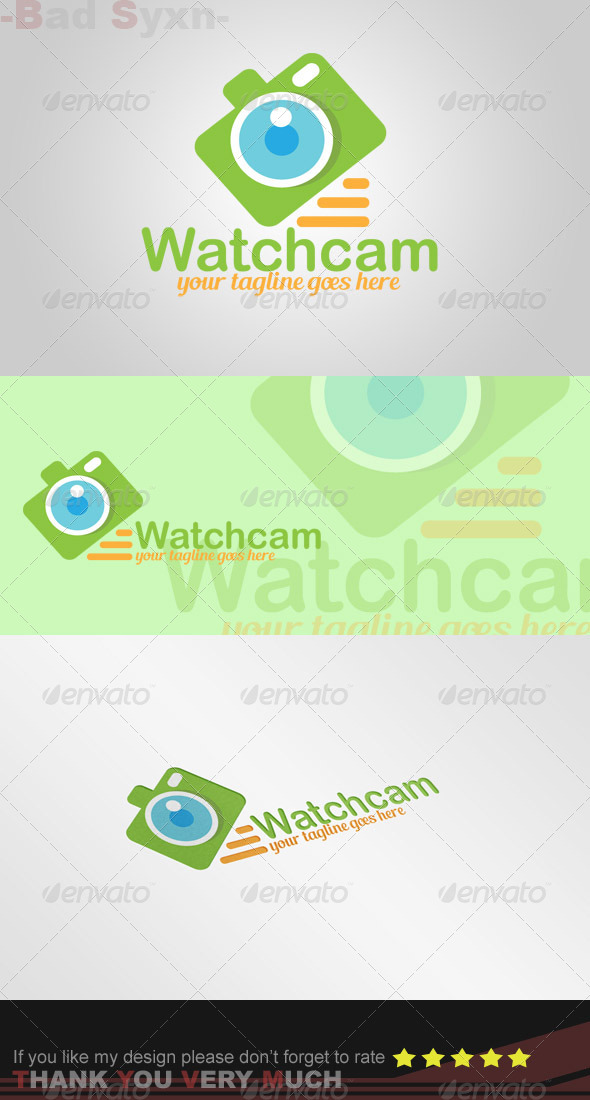 GraphicRiver Watchcam Logo Template 8328227