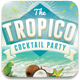 Tropico and Summer Flyer Template - GraphicRiver Item for Sale