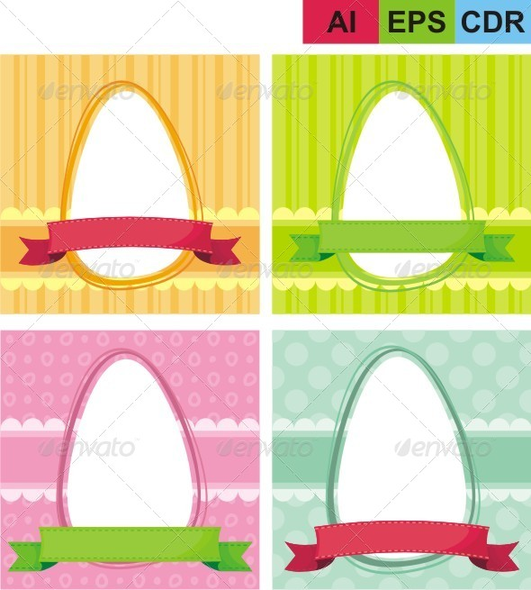 GraphicRiver Easter Frame 8322504