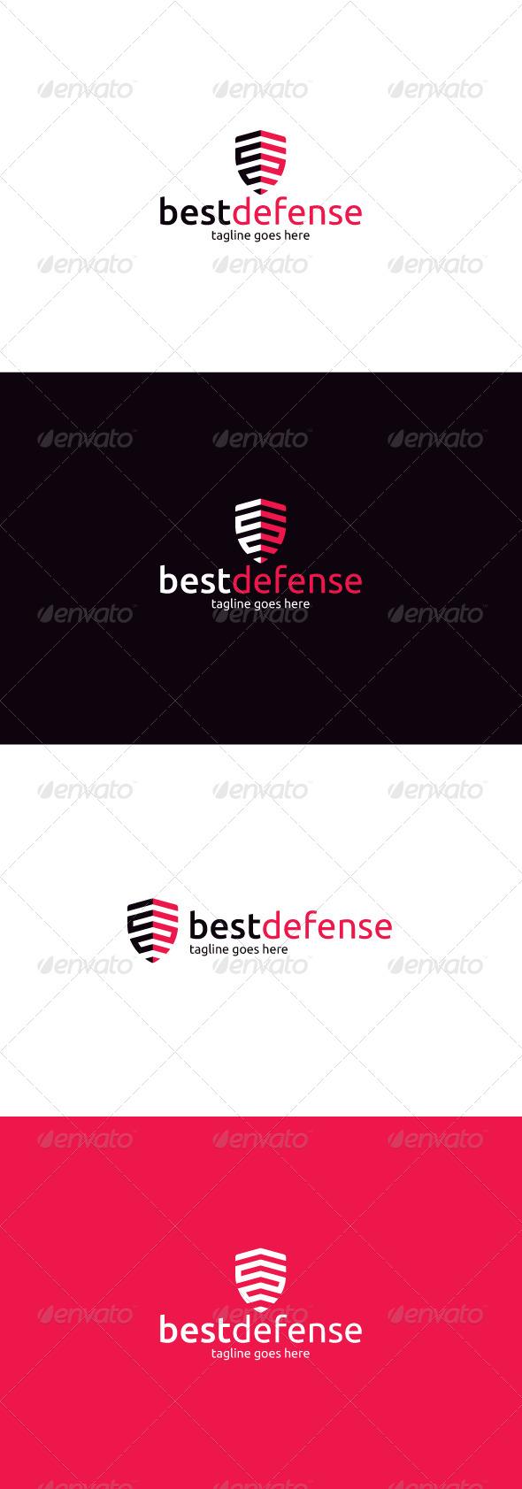 GraphicRiver Best Defense Logo 8328448