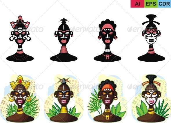 GraphicRiver Representatives of the Tribe 8322299