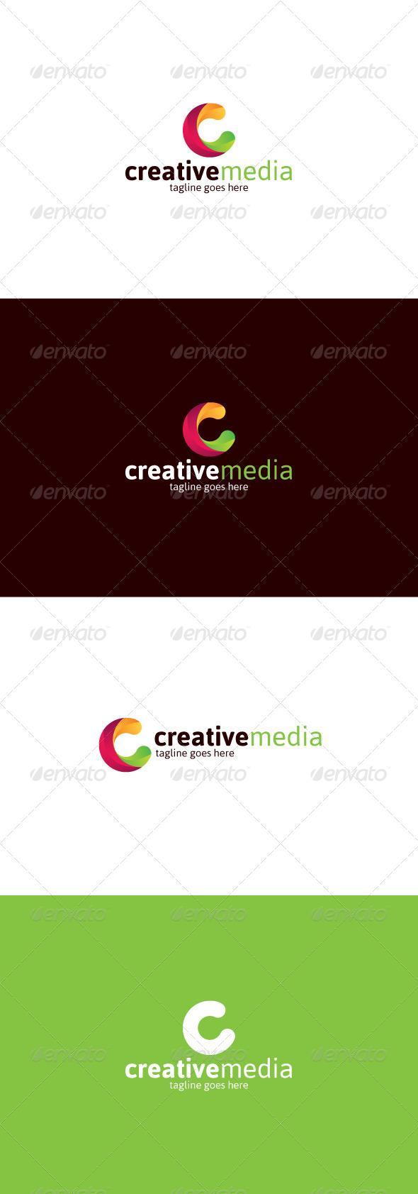 GraphicRiver Creative Media Logo Letter C 8328599