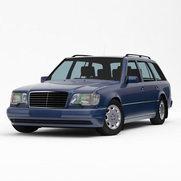 3DOcean Mercedes-Benz W124 S124 E-Class Touring 1993-95 8328623