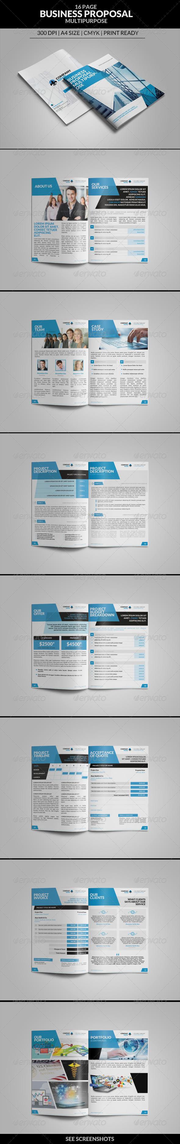 GraphicRiver Business Proposal Multipurpose 8328809