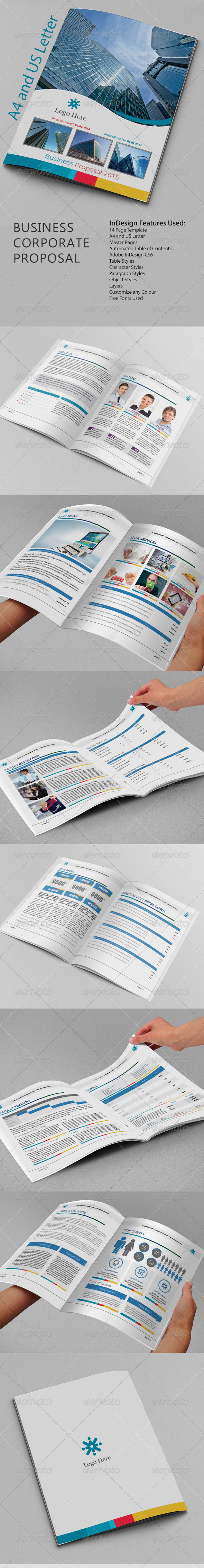 GraphicRiver Business Corporate Proposal 8328957