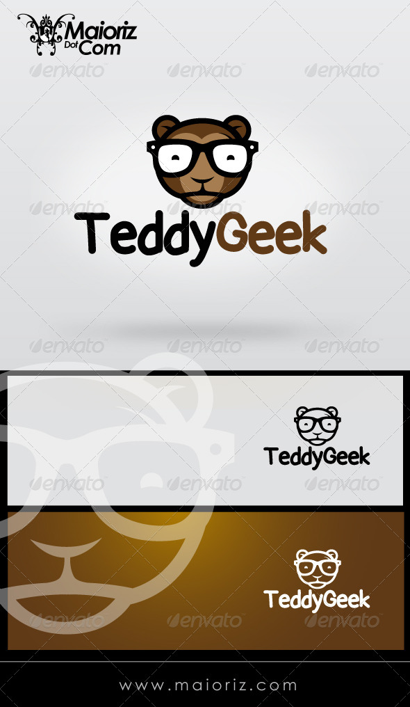 GraphicRiver Teddy Geek Logo Template 8329274