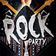 Rock Party Flyer/Poster - GraphicRiver Item for Sale
